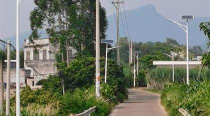 武宣县二塘镇平田村等12个村村太阳能路灯